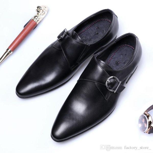 designer monk strap shoes men